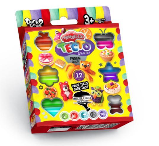 0212  Набор креативной творчести  тесто для лепки