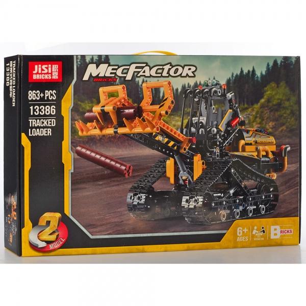 13386  Конструктор  лесозаготовительная техника, 863дет