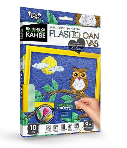 09100  Набор для вышивки на пластиковой канве PLASTIC CANVAS, данко тойс
