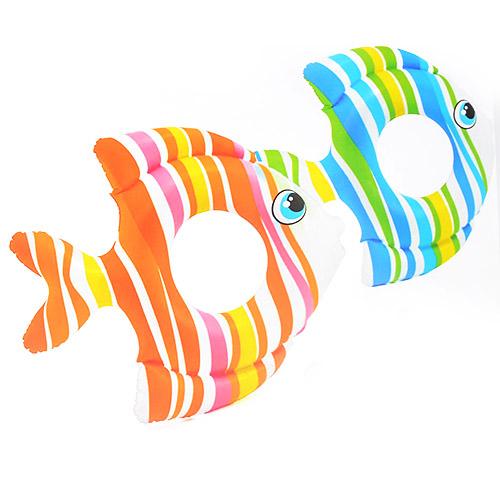 59223  Круг 59223 (36шт) Тропические рыбки, 83-81см, 2цвета, 3-6лет,