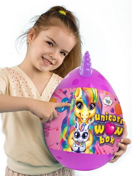 09275 Креативна  творчість Unicorn WOW Box  яйцо