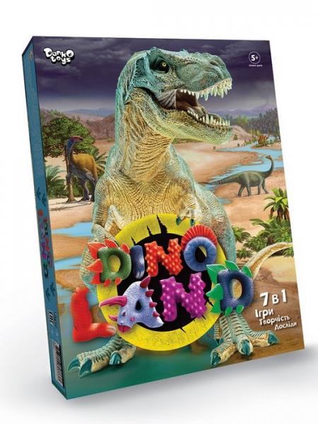 09302 Креативна  твочість  Dino  Land  7  в  1
