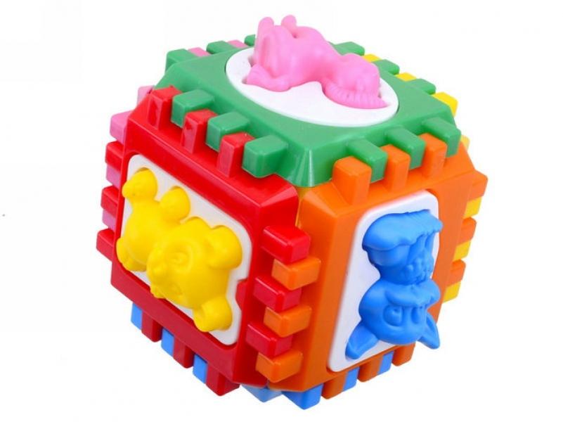 50-001 Логический  куб-сортер  с  вкладышами
