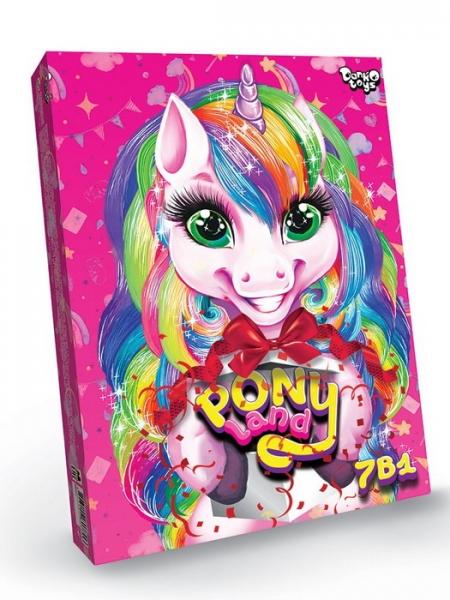 09300 Креативна  творчість  Pony Land 7 в  1